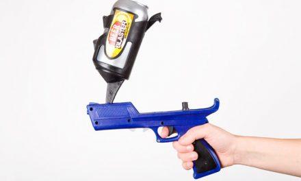 Arma letal para la peda: Pistola de cerveza