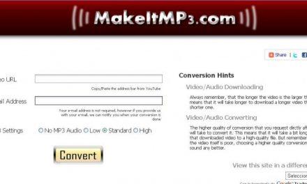 Convierte cualquier video de YouTube en MP3 rápidamente!