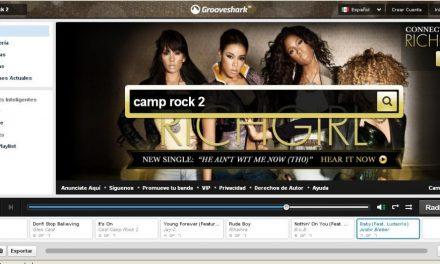 Descarga musica de Grooveshark gratis