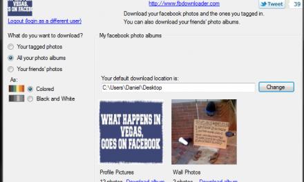 Como descargar álbumes completos en Facebook de ti o tus amigos