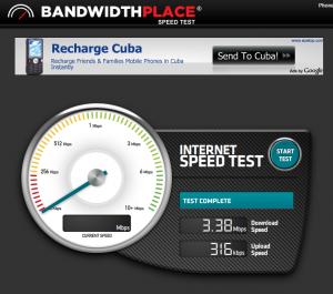 Test velocidad de internet