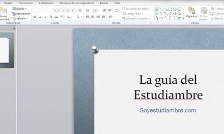 Como convertir una presentación de Powerpoint en Video con un clic