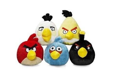 Top 10 productos inspirados en Angry birds