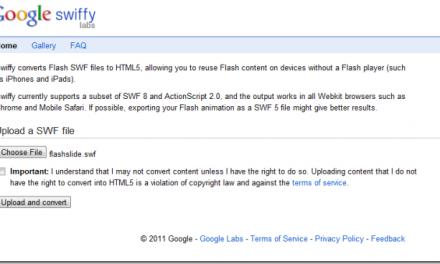 Como convertir archivos SWF de Flash a Html5