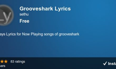 Como ver la letra de todas las canciones en Grooveshark
