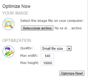 Como reducir el tamaño de archivo de una imagen con 1 clic