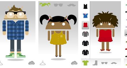 Como crear un avatar tipo Android de ti o tus amigos