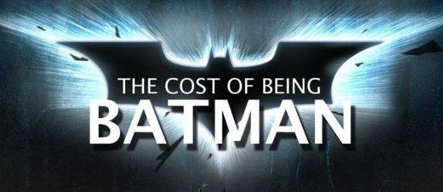 Cuanto dinero se necesita para ser Batman en la vida real [Infografía]