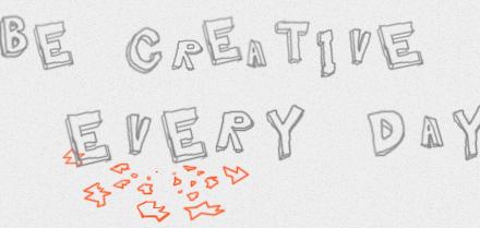 Una prueba de creatividad en un sitio web interactivo