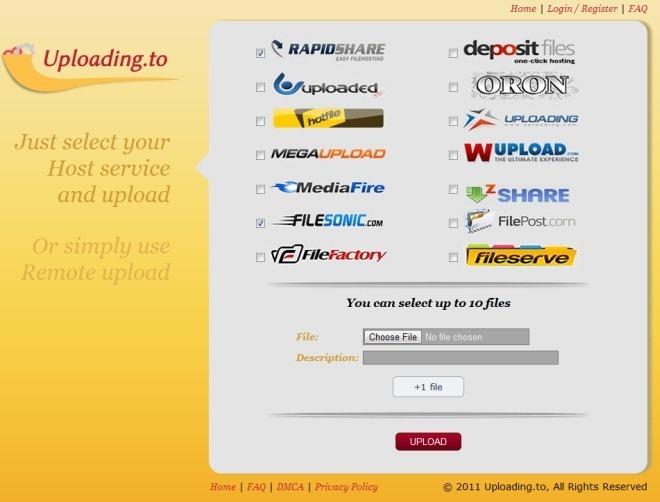 Como subir archivos a múltiples servicios de hospedaje con un clic [Utilidad]