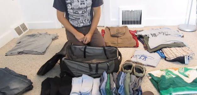 Técnica para empacar tu maleta sin arrugar la ropa y optimizando espacios [Video]