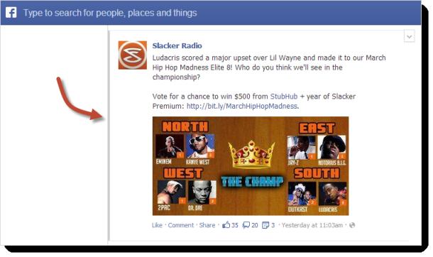 Navega por Facebook con atajos del teclado