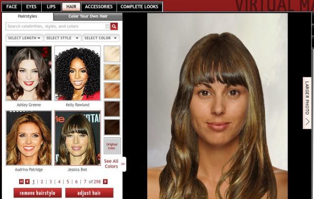 Cambia de Look y prueba cortes de cabello virtualmente [Mujeres]