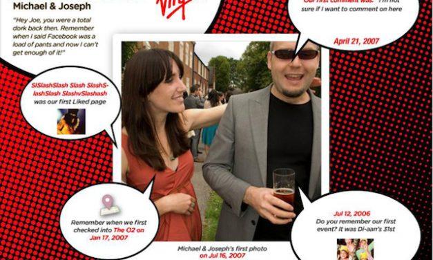 Descubre tu primera vez con tus amigos de Facebook en Collage [App]