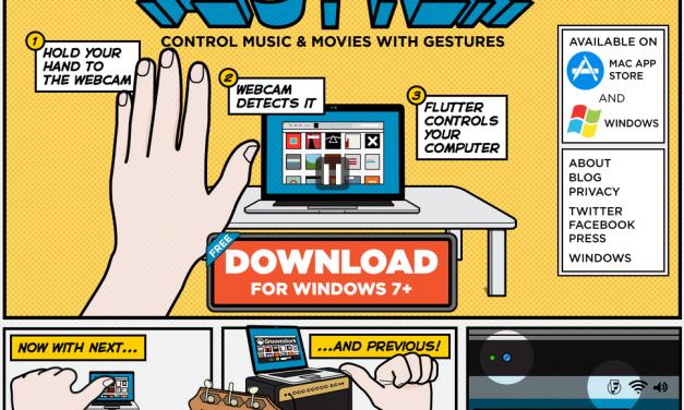 Como controlar tu PC con movimientos en la cámara web