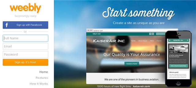 Crea sitios web gratis