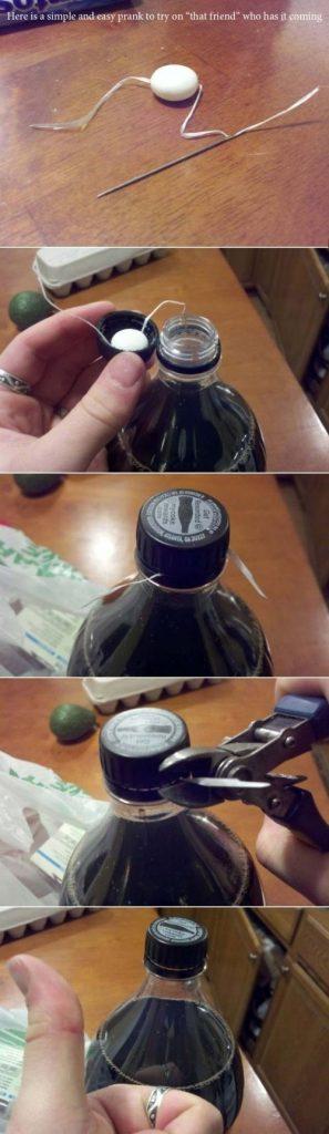 Broma de Coca y Mentos