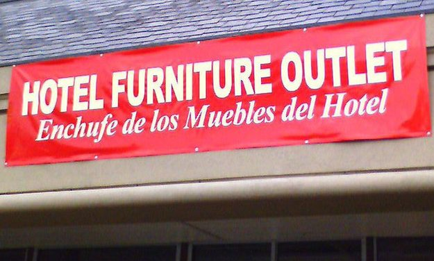 10 carteles que confiaron en Google Translate [FAIL]