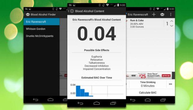 Lleva el mejor alcoholimetro virtual en tu Android [Apps]